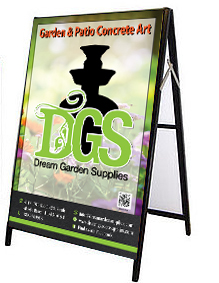 A- Frame Sign - Dream Garden Supplies