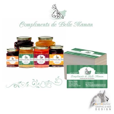 Labels - Compliments de Belle Maman